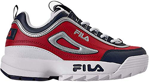 Fila Kids Disruptor II Sneakers Red/Navy/White