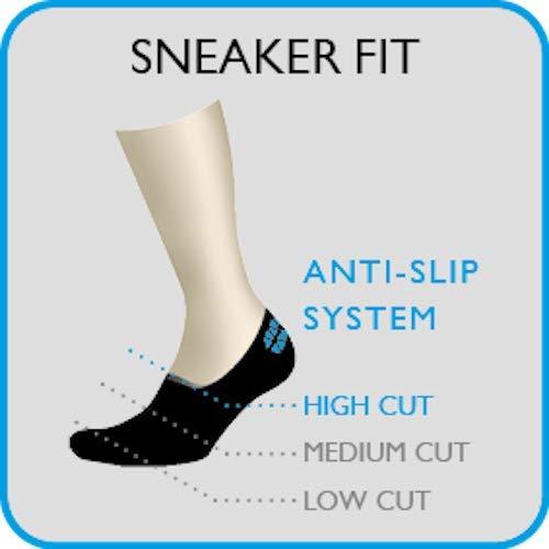 FALKE Damen Füßlinge Cool Kick – Funktionsfaser, 1 Paar, Grau (Light Grey 3400), Größe: 37-38 - 4