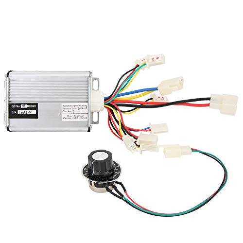 Controlador-Aluminio 36V 1000W Controlador de Cepillo Duradero portátil Kit de Interruptor de...