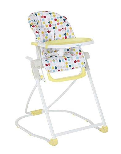 Badabulle Compact Hoge Stoel Badabulle Compact kinderstoel Confetti Yellow