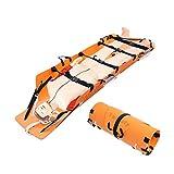 XGYUII Camilla Plegable portátil de Rescate de Emergencia Camilla Multifuncional Suave Montañismo Cuerpo de Bomberos Médico Mover Transporte Rollo Camilla