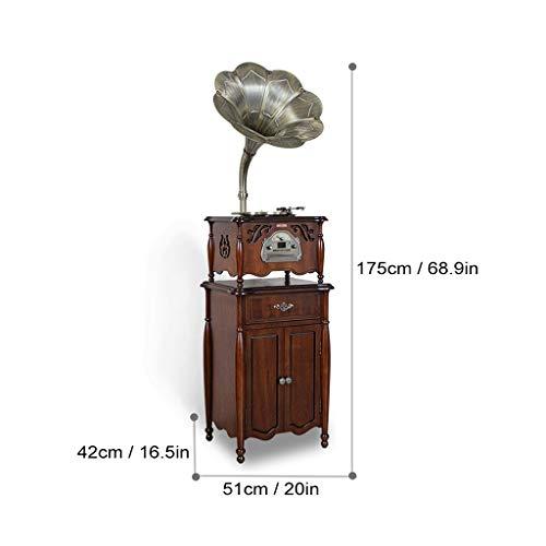 GOM platenspeler bluetooth-radio, 3-speed 5 in 1 turntablet, ingebouwde stereo hifi audio luidsprekersystemen, RCA-uitgang, ondersteuning cd-speler, USB-aansluiting