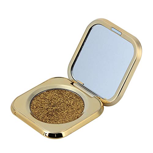 Glitter Pearl Lidschatten Augen Pigment Highlighter Shading Powder Makeup Cosmetic(3#)