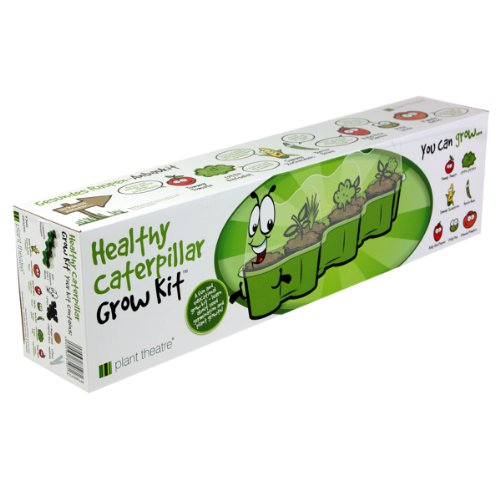 WASAKKY Healthy Caterpillar Grow Kit by Plant Theatre - Educational Gift