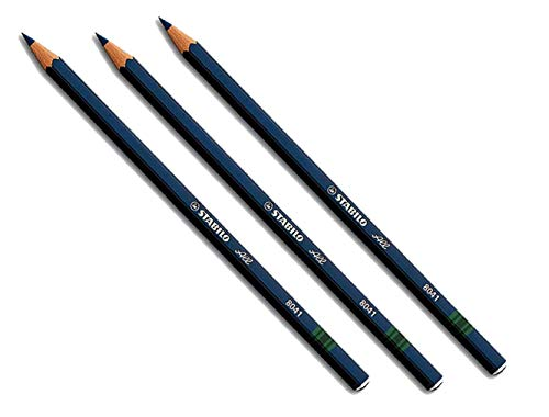 3x Stabilo-All Pencils (Blue)