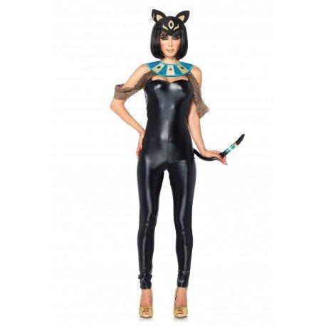 Disfraz Diosa Gato Egipcio: Amazon.es: Juguetes y juegos