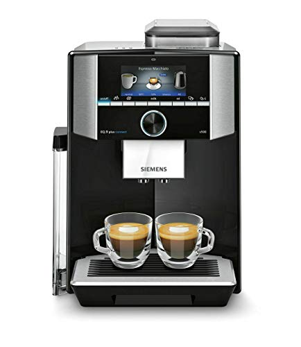 Siemens EQ.9 plus connect S500 TI9555X9DE - Cafetera automática (1500 W), color negro