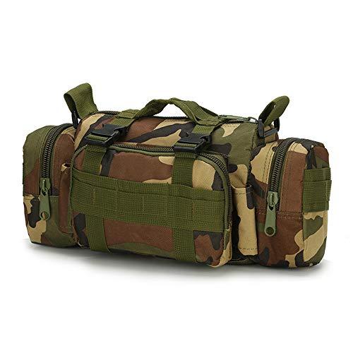 WEIHUIMEI 6L Multifonctionnel Sac De Taille Tactique Molle Pack Sac À Dos Militaire pour Randonnée Camping Trekking