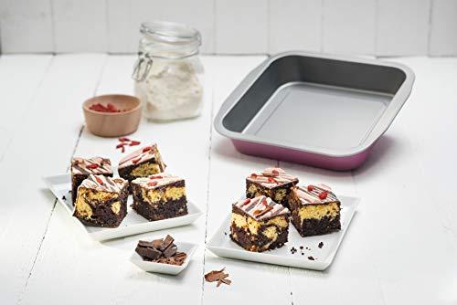 Zenker Zenker creative studio Brownie-Backform, Schokoladenkuchen Bild
