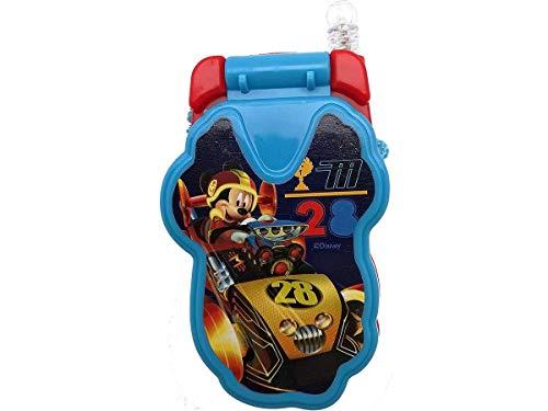 Toymark Teléfono Celular de Juguete con Luz y Sonido (Mickey Mouse Azul)