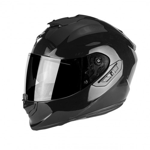 Scorpion - Casco de Moto EXO-1400 Air Solid Opaco Negro L Medium Multicolor