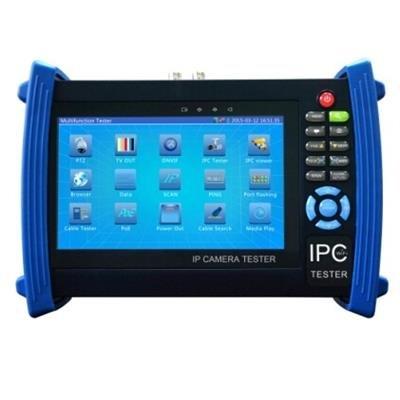 MaxxOne SE51 Universal-Überwachungskamera-Tester und Monitor mit integriertem WLAN, 1080p und PoE, 17,8 cm (7 Zoll)
