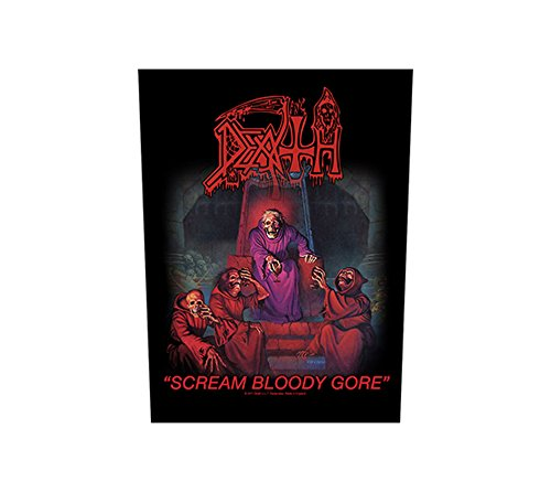 Unbekannt Death–Scream Bloody Gore [espalda parche, impreso] [b865]