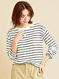 [ビューティ&ユース] 【WEB限定】by ※∴ボートネックドロップスリーブロング Tシャツ 16126994550 9100 レディース その他1 (91) Free Size