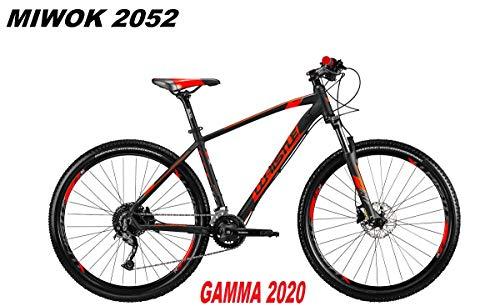 WHISTE MIWOK 2052 fiets 27,5 Shimano ALIVIO 18 V SUNTOUR XCM RL Gamma 2020