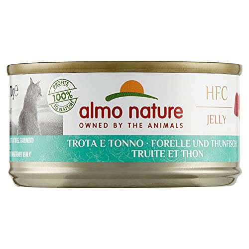 almo nature HFC 70 Natural - Truite & Thon - 24 x 70 g
