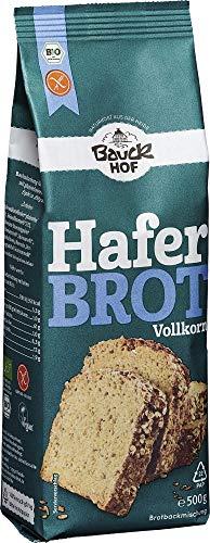 Bauckhof Bio Haferbrot Vollkorn glutenfrei (2 x 500 gr)