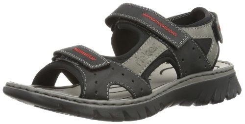 Rieker 26757 Sandals-Men, Herren Sandalen