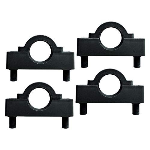 Toygogo 4 Teile/Paket Kajak Stabilisator Pol Halter Halterung Clamp Keeper Motorhalterung Clip