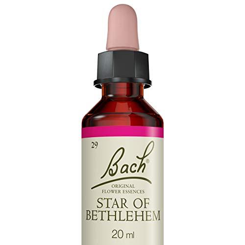 Fleurs de Bach Original Dame de onze heure, Star of Bethlehem, Aide à trouver le réconfort, Vegan, Complément alimentaire, 1 Flacon Compte Gouttes x 20 ml