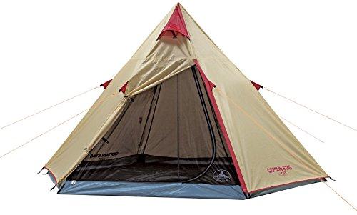 キャプテンスタッグ(CAPTAIN STAG) テント テント アルミワンポールテント 300UV UA-16 ティピー型 3~4人用...