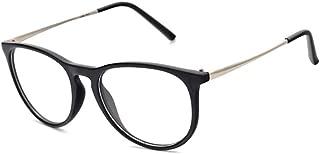 Aiweijia Ultra-light glasses myopia leopard glasses round frame flat mirror