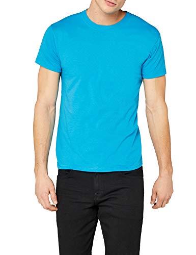 Fruit of the Loom Original T. T-Shirt, Azur, XXL Homme