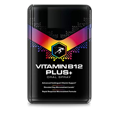 Vitamin B12 1200ug Spray (20ml) + Vitamins B1, B2, B3, B5, B6, B7, B8, B9 - High Strength Vitamin B Complex (Suitable for Vegetarians & Vegans)