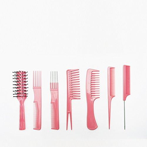 BIFULL GEA Pink Set Peignes, Noir, Standard