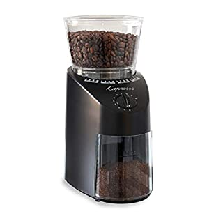 Capresso 560.01 Infinity Conical Burr Grinder, Black (B0000AR7SY) | Amazon price tracker / tracking, Amazon price history charts, Amazon price watches, Amazon price drop alerts