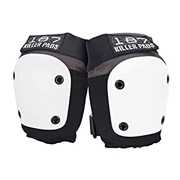 187 Killer Pads Fly Knee Pad Grey / White X- Large