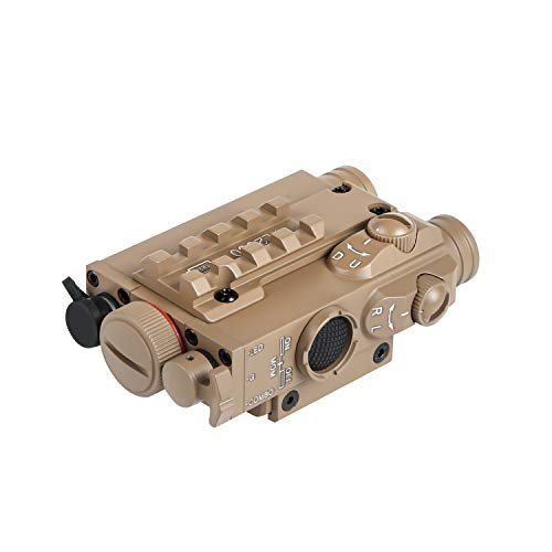 FL2000T Tactical Green Laser Sight + 200LM LED Light Combo (Tan) with Pressure Cord Switch and Quick Release Mount