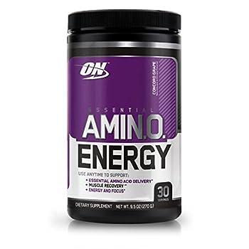 Optimum Nutrition Essential Amino Energy Concord Grape 0.6 lb  270 g