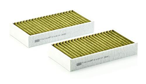 Original MANN-FILTER FP 2646-2 - FreciousPlus Biofunktionaler Pollenfilter - Für PKW