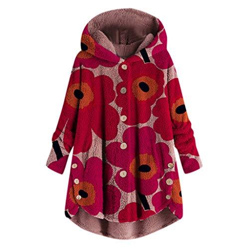 Deelin herfst/winter, modieus, vrouwen, mooie knoop, zachte mantel van pluche, losse mantel met capuchon, trainingspak