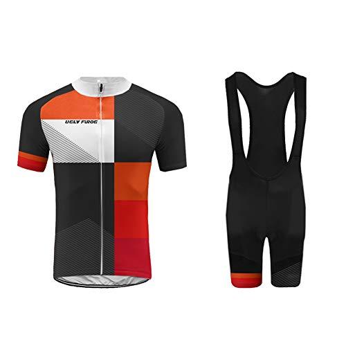 Uglyfrog JKL12 Estate Traspirante Uomini Sport all'Aria Aperta Usura Manica Corto Magliette Ciclismo Maglia Bicicletta Bici Abbigliamento Bici Triathlon Wear