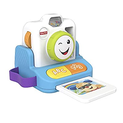 Fisher-Price GMX42 Laugh and Learn Click and Learn Instant Camera by Mattel