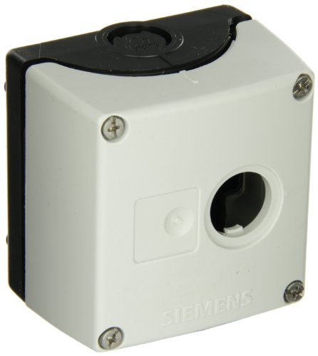 Siemens–Box aus Kunststoff VACIA 1Punkt Fernbedienung 3SB38–04