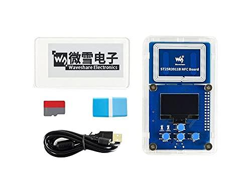 HEQIE-YONGP Pantalla de Tinta e- Kit de evaluación de Papel electrónico 2.9 Pulgadas, sin batería, Potencia inalámbrica y Transferencia de Datos Pasiva NFC para Bricolaje
