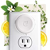 10. Enviroscent Non-Toxic Plug-in (3-Piece Set) Room & Home Air Freshener Kit (Lemon Leaf + Thyme) Infused with Essential Oils   1 Refillable Plug Hub & 2 Liquidless Scent Pods