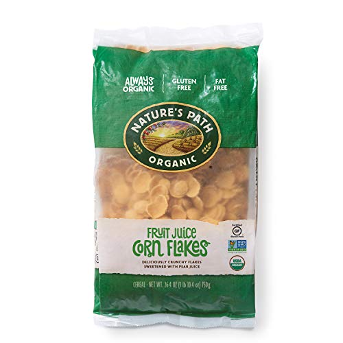 Nature's Path Fruit Juice Corn Flakes Cereal, Healthy, Organic, Gluten-Free, 26.4 Ounce (Pack of 6)
