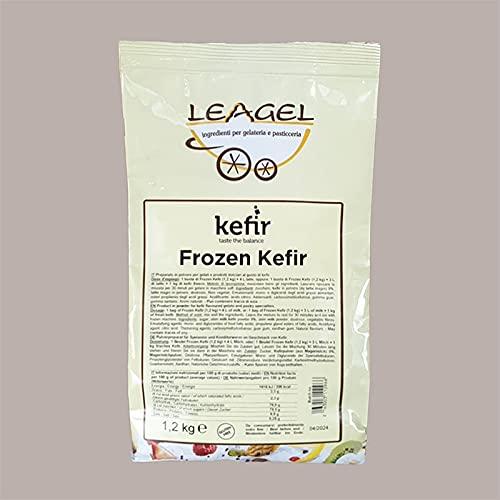 Lucgel Srl 1,2 kg Preparato In Polvere Yogurt Frozen Soft Gusto Kefir Leagel per Gelato e Pasticceria Artigianale