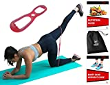Sargoby Fitness Easy to use Butt Resistance Band | Sculpt & Tone Your Bum Thighs with Booty Bands Resistance Bands | The Booty Band for Women Comes with Workout eBook with Pictures & Exercise Log