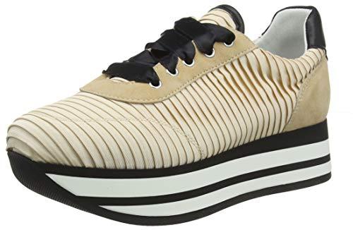 Frau Sneakers, Sneaker a Collo Alto Donna, Rosa (Nude Nude), 39 EU