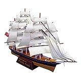 XIUYU Papier Militaire Puzzle modèle Jouets, 1/300 échelle Britannique Cutty Sark Bateau à Voile for Enfants Jouets et Cadeaux, 12.2Inch