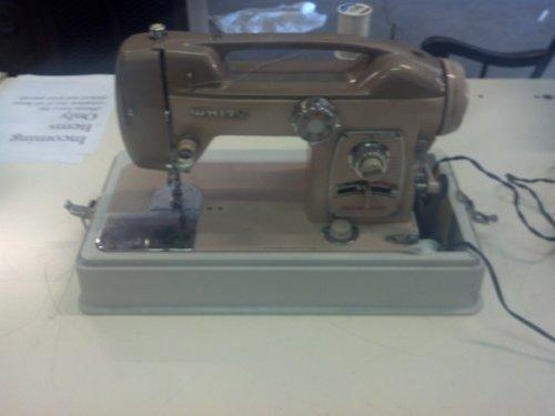 Check Out This White Brand Sewing Machine Model 764