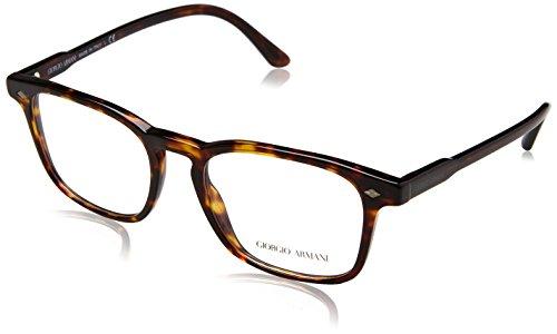 Armani Herren 0AR8103V Brillengestell, Dark Havana, 53