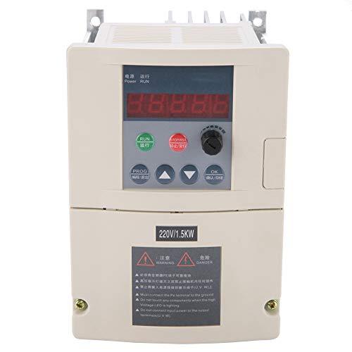 VFD eenfasige snelheidsregelaar frequentieomvormer 3-fasen uitgangsconverter 220 V, 1,5 kW, 9,6 A.