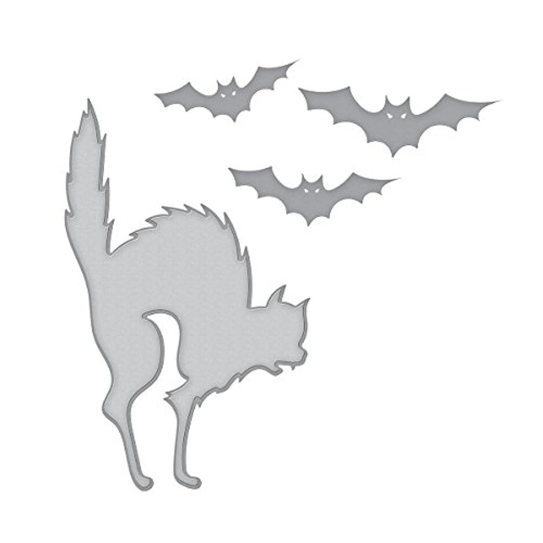 Spellbinders Die D-Lites Cats 'n Bats Etched/Wafer Thin Dies