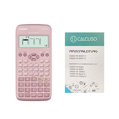 Casio FX-83GTX Pink mit kostenloser Praxisanleitung und erweiterter Garantie